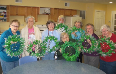 Celebrating St Patrick's Day with Decorative Handmade Wreaths